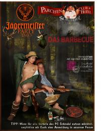 JÄGERMEISTER PARTY  -Sau tot-  Das Barbecue