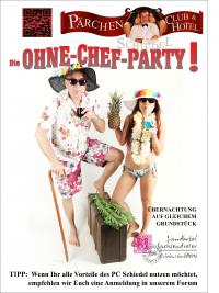 die OHNE-CHEF-PARTY