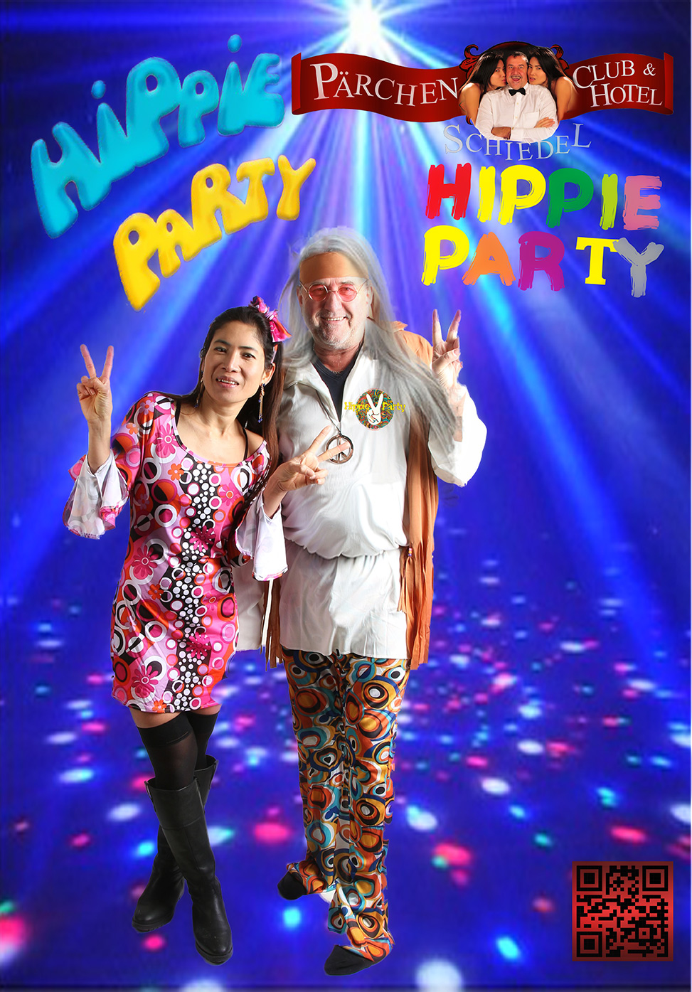 WEB P hippie party