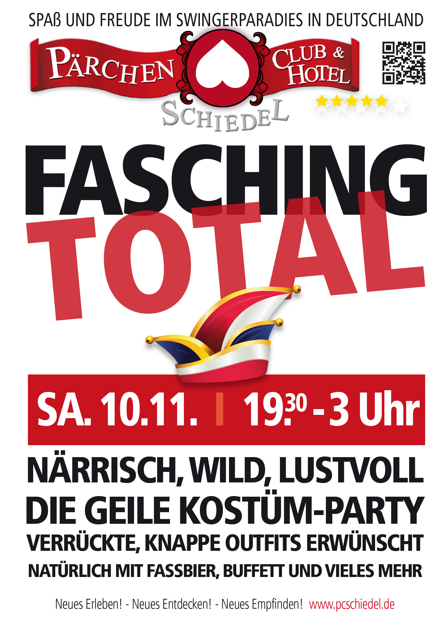 Schiedel FaschingFlyer
